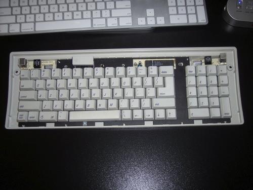 how to clean under keyboard keys mac